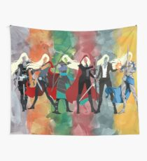 Throne of Glass Series Watercolor Tapestry