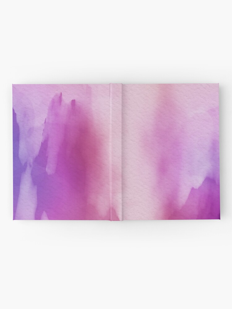 Alternate view of Pinks & Purple Watercolor Positive Space Hardcover Journal