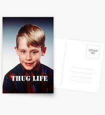 Macaulay Culkin - Thug Life Postcards