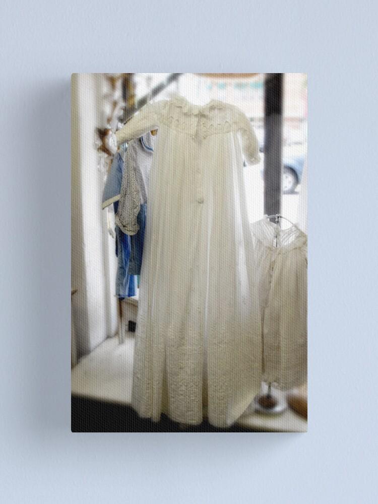 Alternate view of Christening Dress Canvas Print