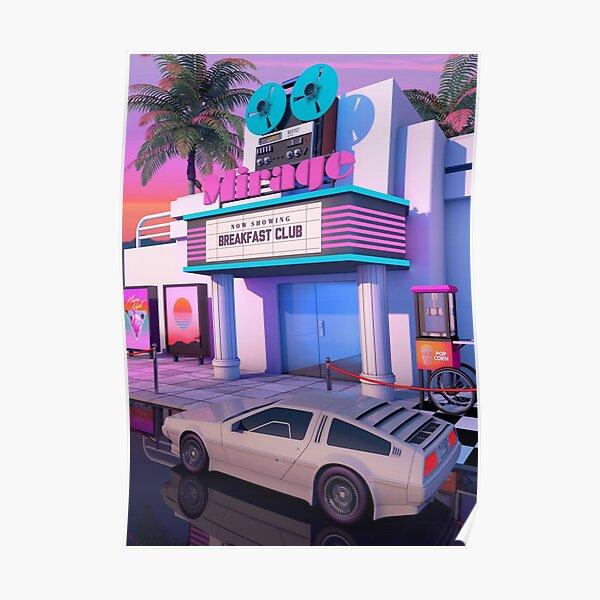80s Cinema Poster