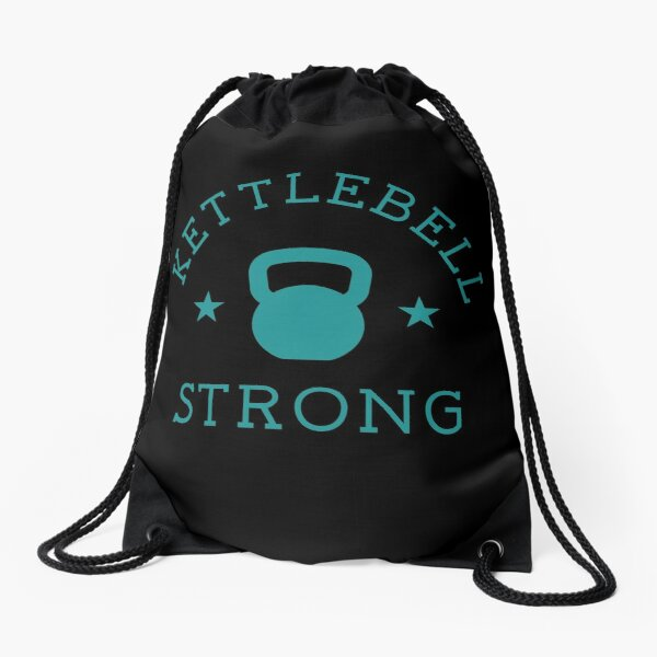 Kettlebell Strong Fitness  Drawstring Bag