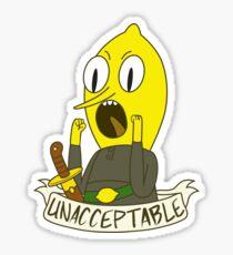 Lemongrab Sticker
