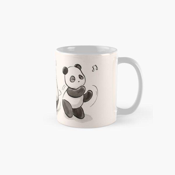 Panda Food Dance Classic Mug