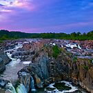 Great Falls Sunset by LeeAnne Emrick