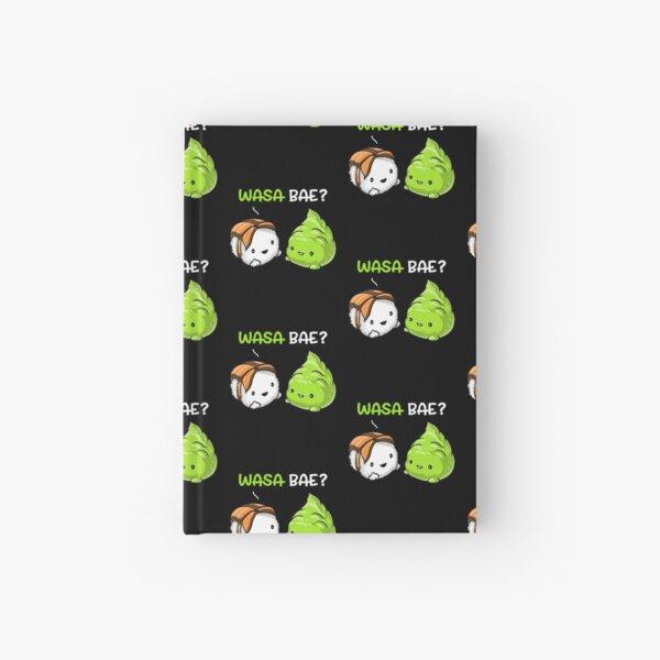 Sushi Wasabi Wasa Bae Hardcover Journal