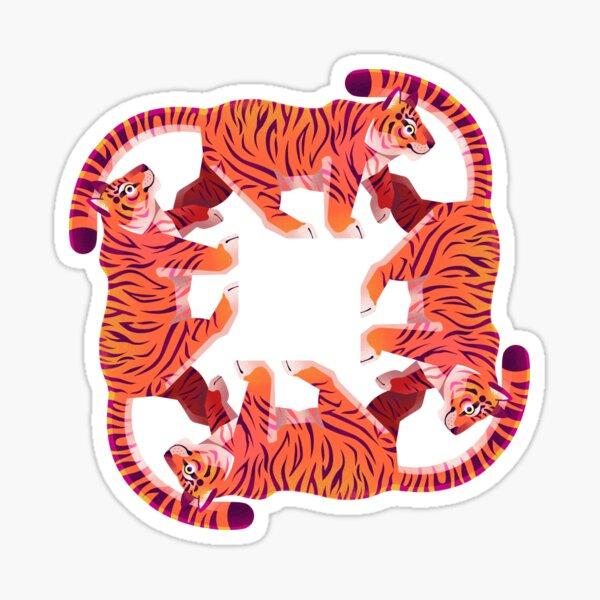 Tiger Tiger Tiger Tiger Sticker