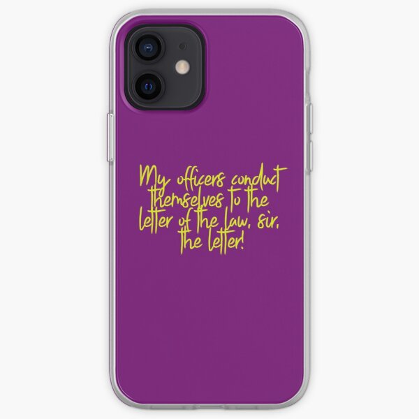 Line of Duty Quote iPhone Soft Case