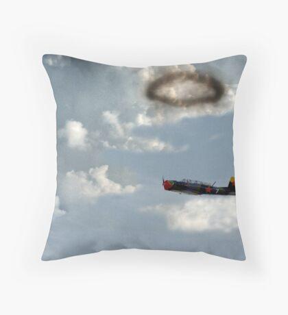 Smoke Ring Throw Pillow
