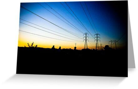 Sunset Horseback by FFRPhoto