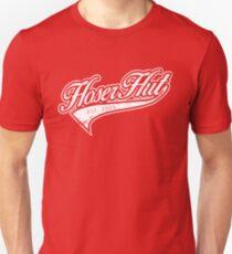 Hoser Hut_White Unisex T-Shirt