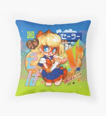 v soba Throw Pillow