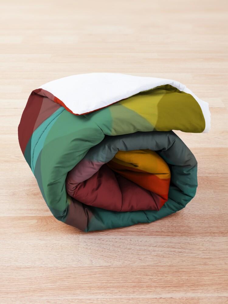 Alternate view of Mid Century Modern Circle Print 2 Comforter