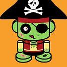 Pirate Zombie O'bot 2.0 by Carbon-Fibre Media