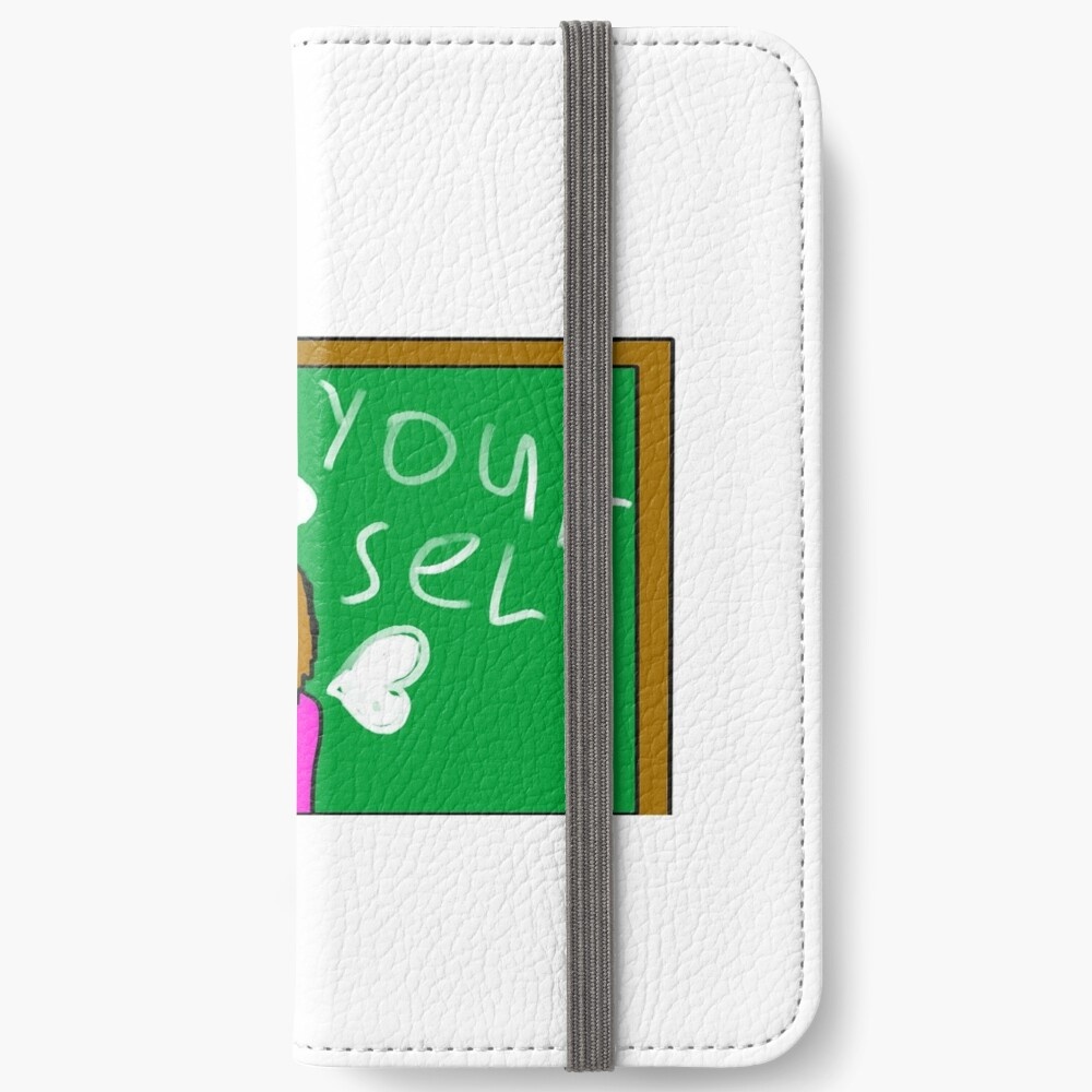 Be Yourself by JW iPhone Wallet