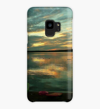 OPALESCENT COLORS ON THE LAKE Case/Skin for Samsung Galaxy