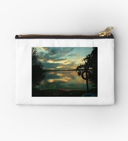 OPALESCENT COLORS ON THE LAKE Studio Pouch