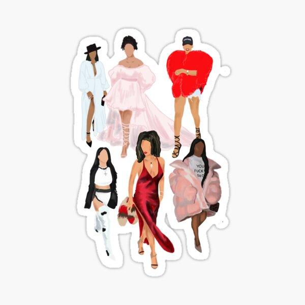 Les nombreux visages de Rih Sticker