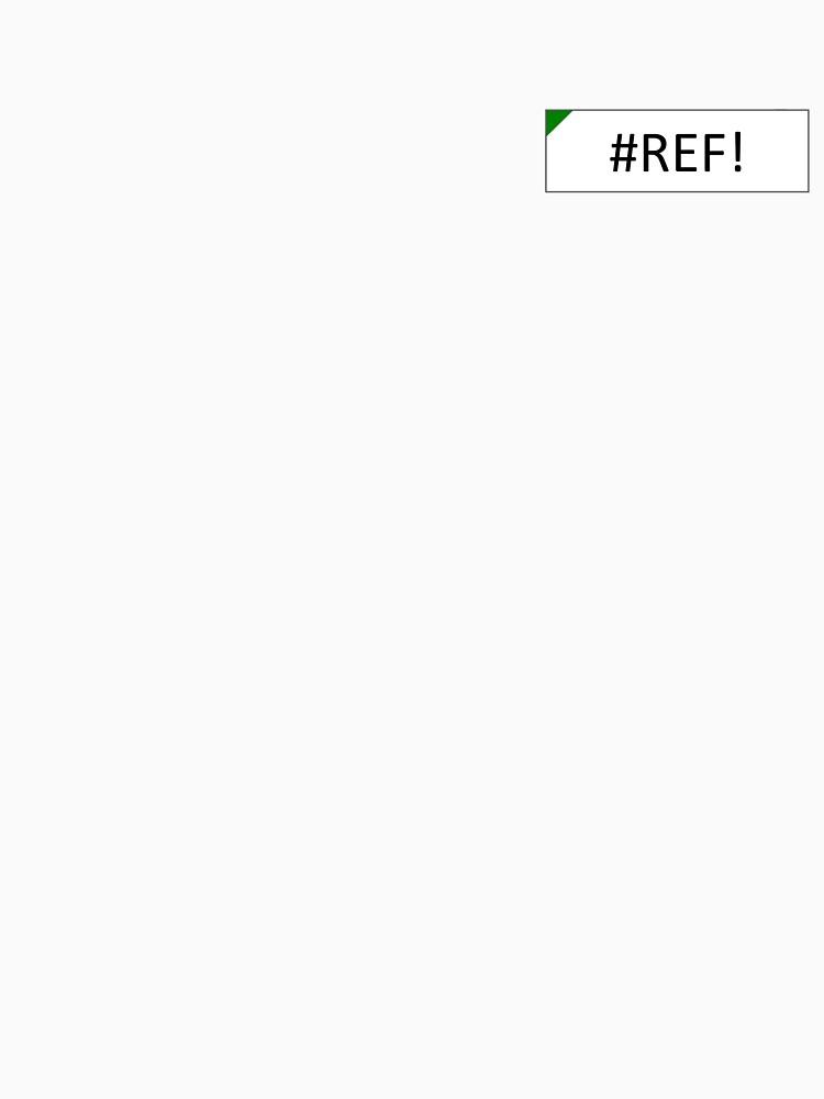Excel #REF! Error by hdevine825