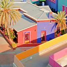 La Placita from the Roof by Linda Gregory