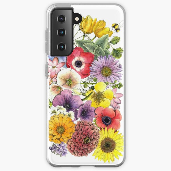 Plant These Save the Bees Samsung Galaxy Soft Case