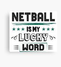 Netball Teamshirt Wall Art | Redbubble