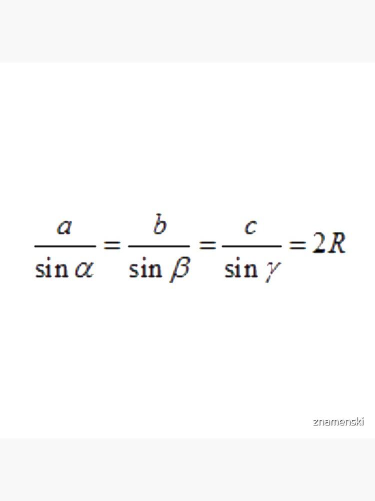 #SineLaw, #Angle, #Length, #Trigonometry, Math Formulas, Geometry Formulas by znamenski