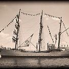 ARC Gloria (Columbian Tall Ship) by MKWhite