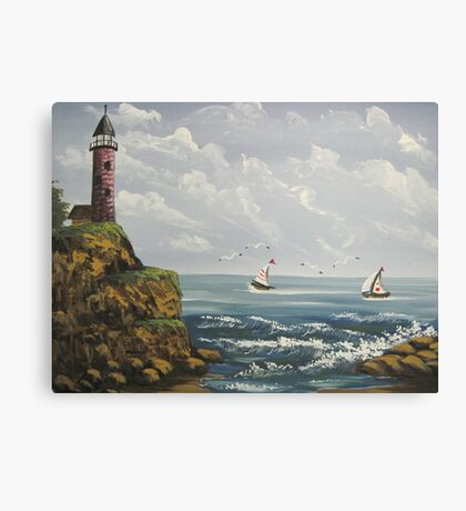 Out to Sea Canvas Print