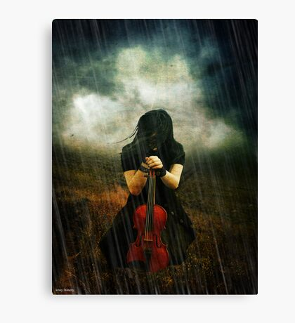 Noone can acept the truth  Canvas Print