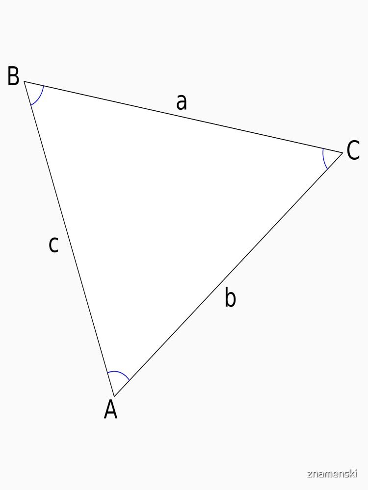 #Triangle, #Geometry, #Trigonometry, #Math Formulas, Law of Sines, Angles, Sides by znamenski