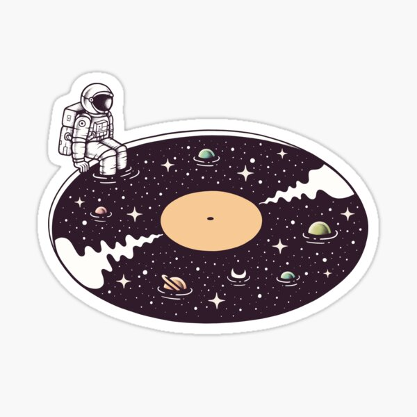 Cosmic Sound Sticker