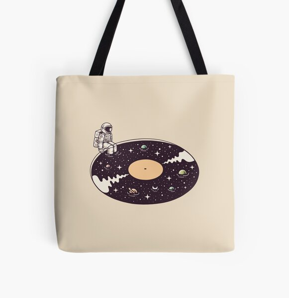 Cosmic Sound All Over Print Tote Bag