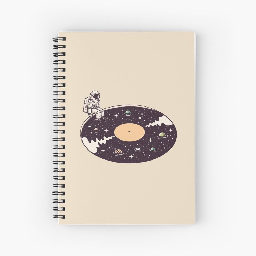 Cosmic Sound Spiral Notebook