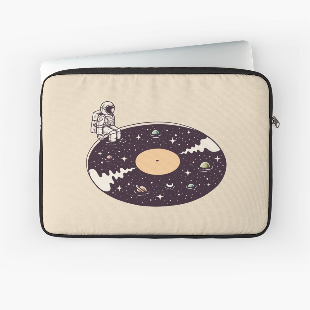 Cosmic Sound Laptop Sleeve