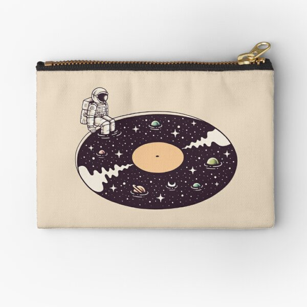 Cosmic Sound Zipper Pouch