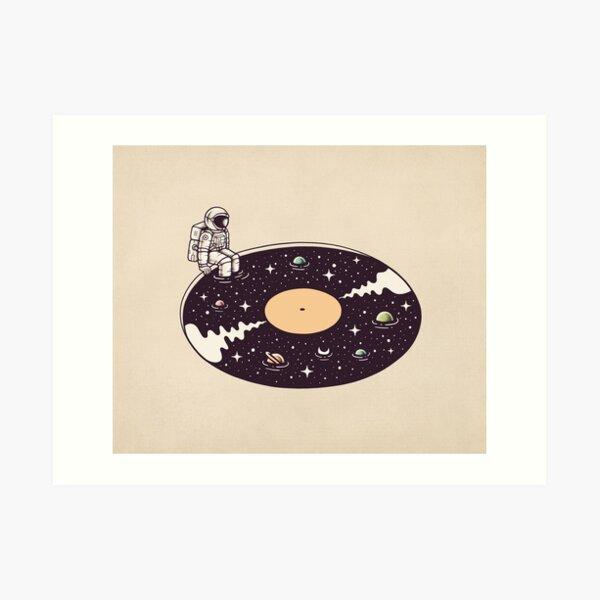 Cosmic Sound Art Print