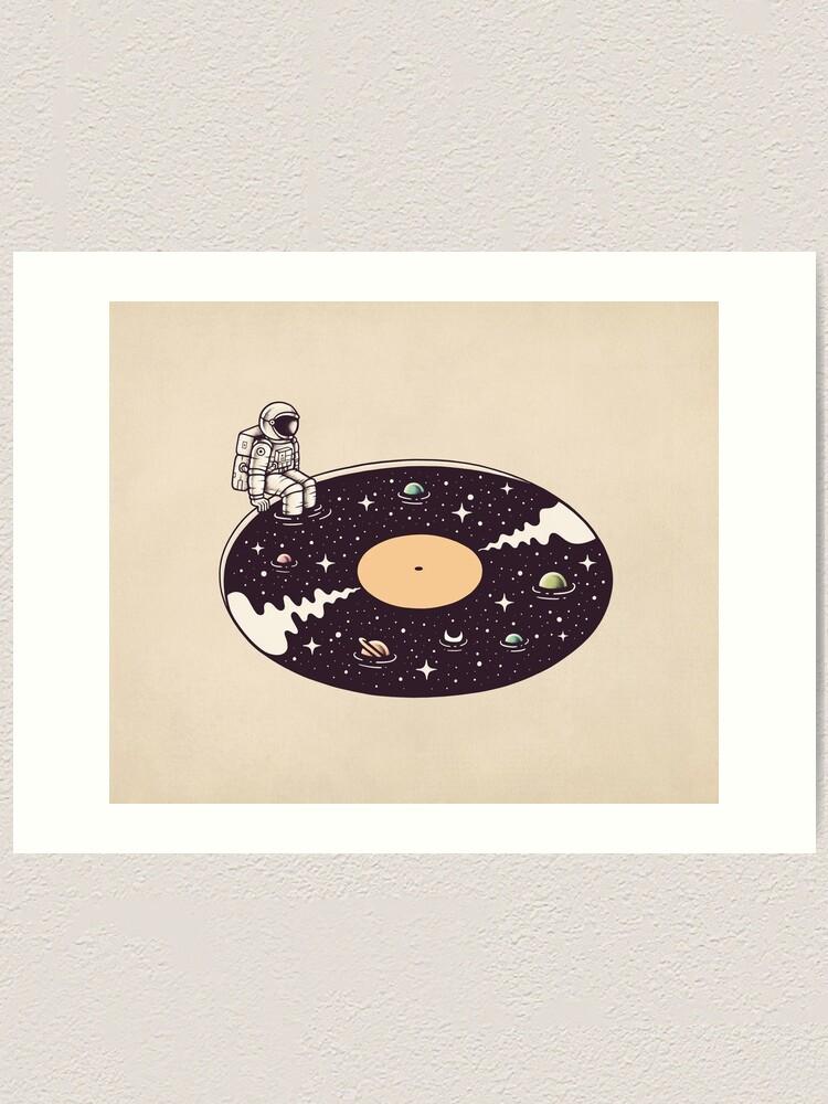 Alternate view of Cosmic Sound Art Print