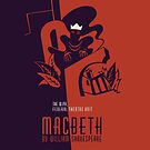 «Macbeth retro William Shakespeare» de aapshop
