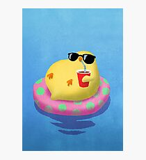 Chick on vacation Photographic Print