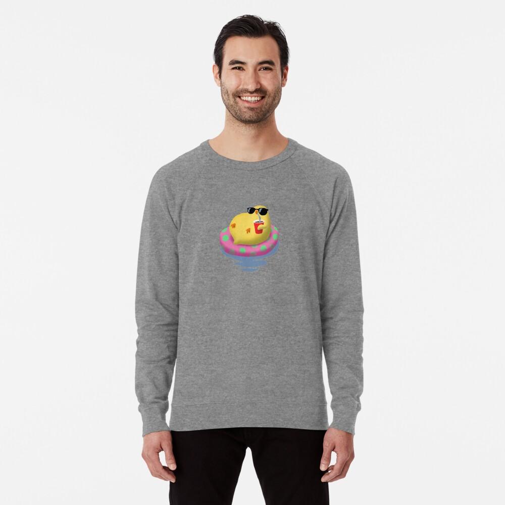 Chick on vacation Lightweight Sweatshirt