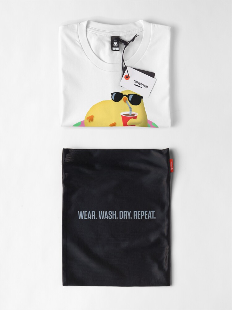 Alternate view of Chick on vacation Premium T-Shirt