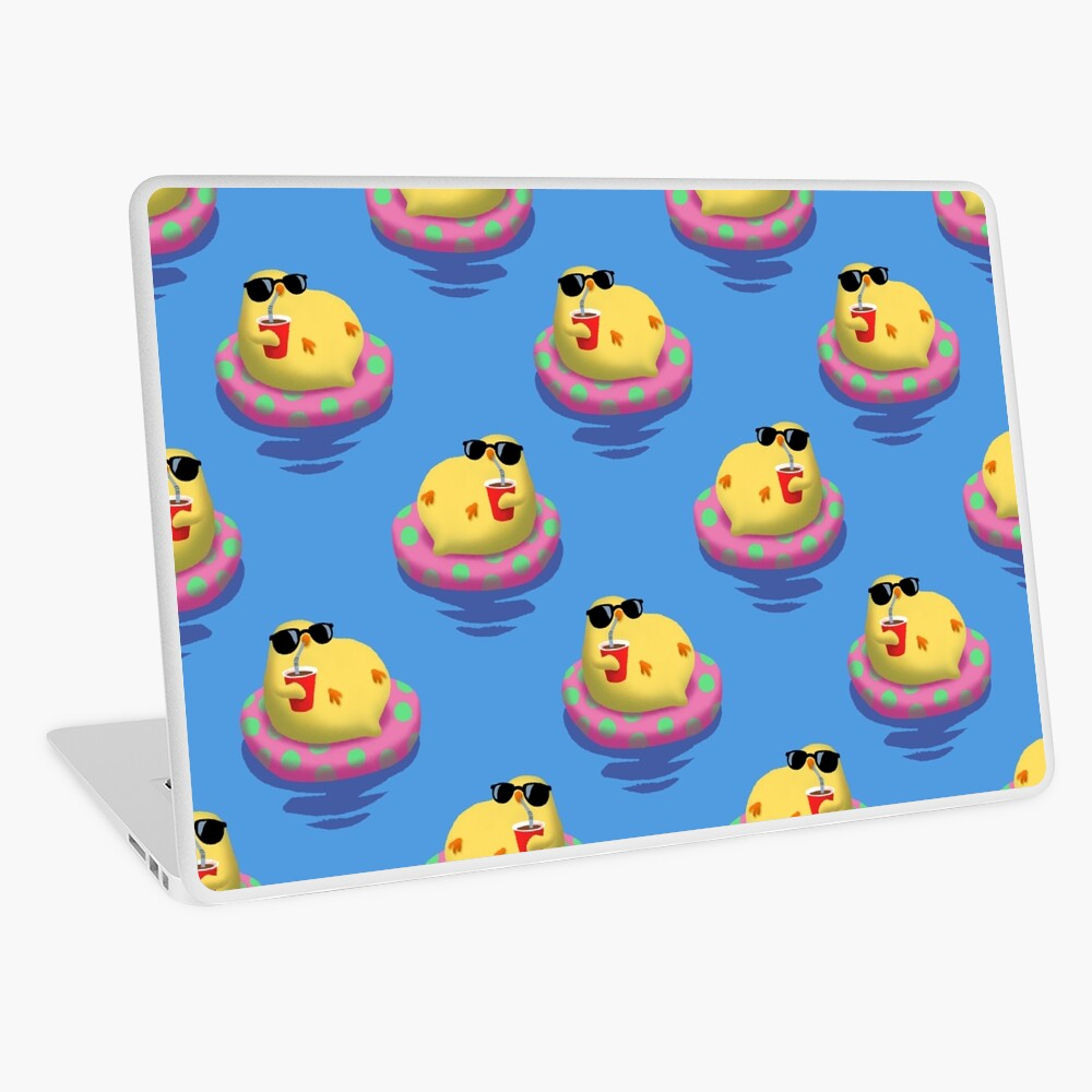 Chick on vacation Laptop Skin