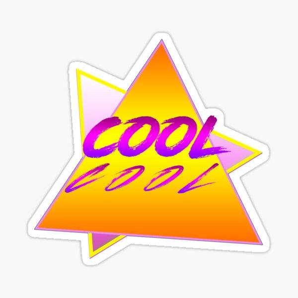 cool - retro design vector Sticker