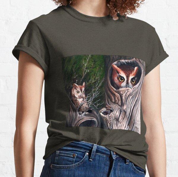 Sentinels -  Eastern screech owls Classic T-Shirt
