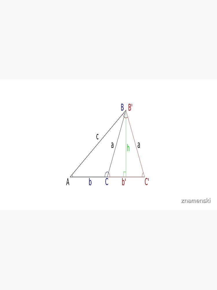 #Altitude, #Sine, #Cosine, #Triangle, Geometry, Trigonometry, Math Formulas, Angles by znamenski