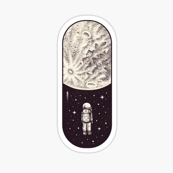 Space Capsule Sticker