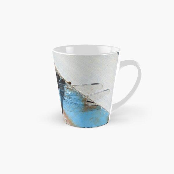 Dragonfly on Rusty Boat  Tall Mug