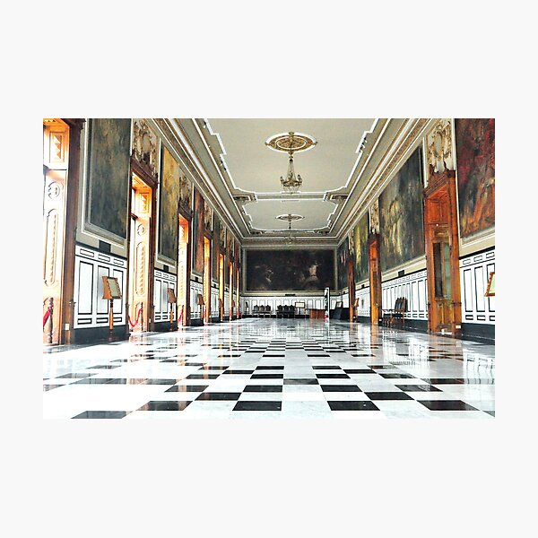 A Checkered Past Photographic Print