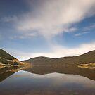 Cobb Reservoir at night by Paul Mercer